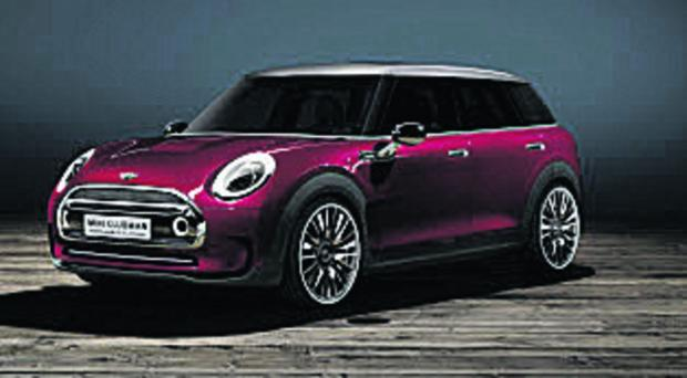thisisoxfordshire: New Concept for Mini estate to be unveiled