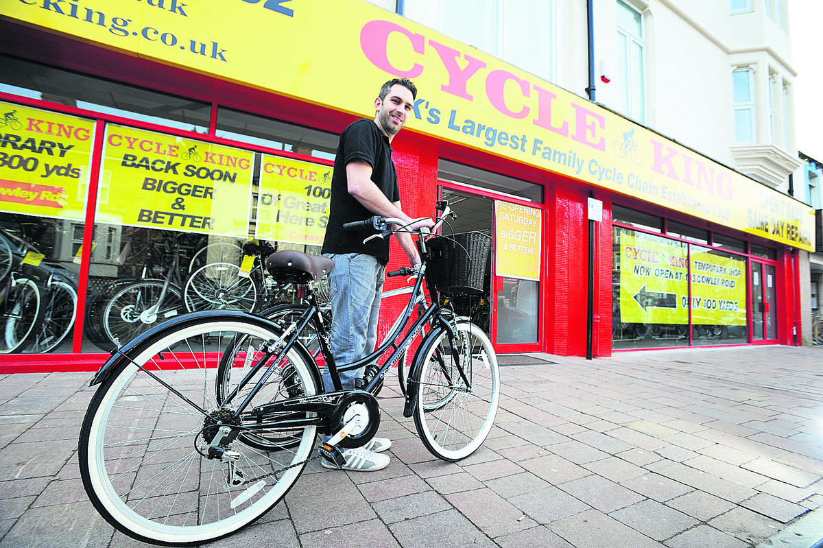 Oxford bike shop to open again at old premises a year after devastating fire