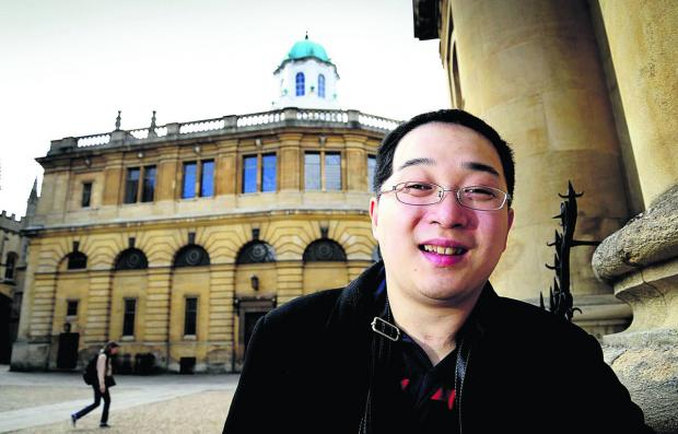 Kentaro Ikeda, back in Oxford ahead of his graduation ceremony