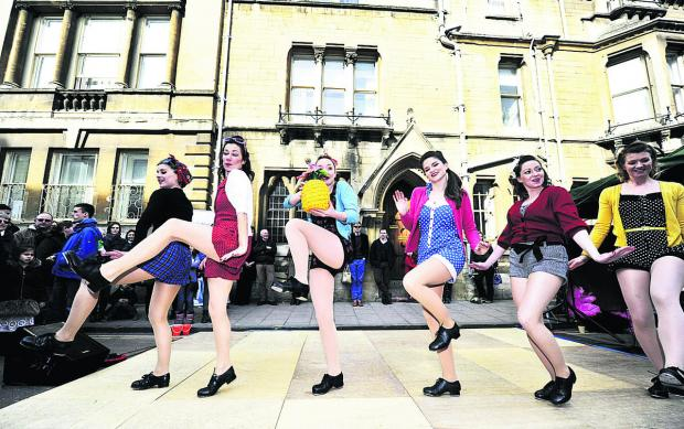 Sole Rebel Tap dance for the crowds