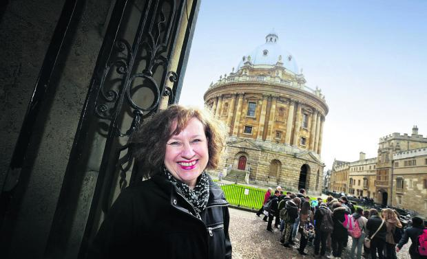 Woodstock author Melanie King will be among the speakers tomorrow when the Oxford Literary Festival opens Picture: OX66049 Damian Halliwell