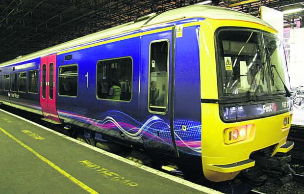 thisisoxfordshire: A First Great Western Turbo train