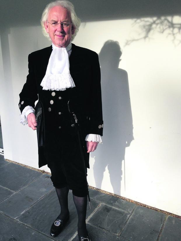 thisisoxfordshire: High Sheriff of Oxfordshire Tony Stratton