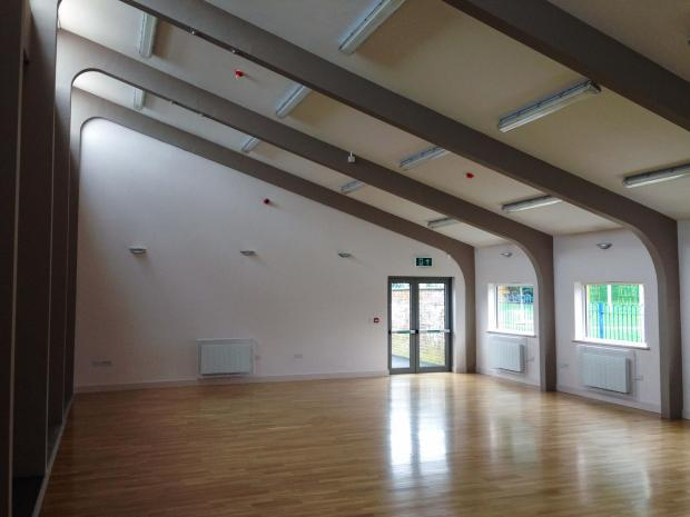 Dean Court Community Centre was refurbished following an arson attack