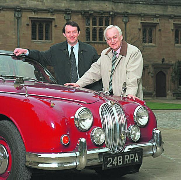 thisisoxfordshire: John Thaw, right, and Kevin Whately