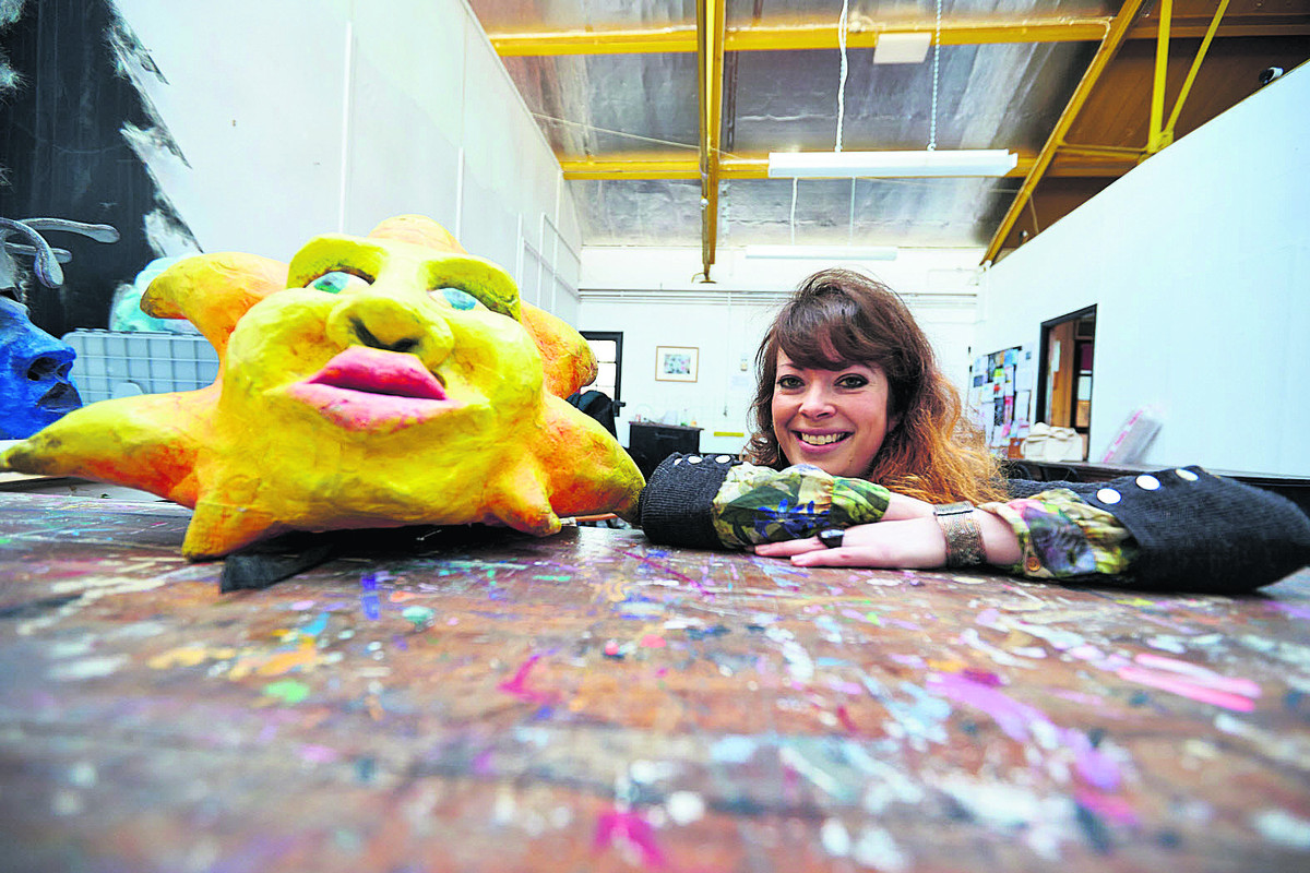 Lizzy McBain is running a project to make costumes for this year's Cowley Road Carnival