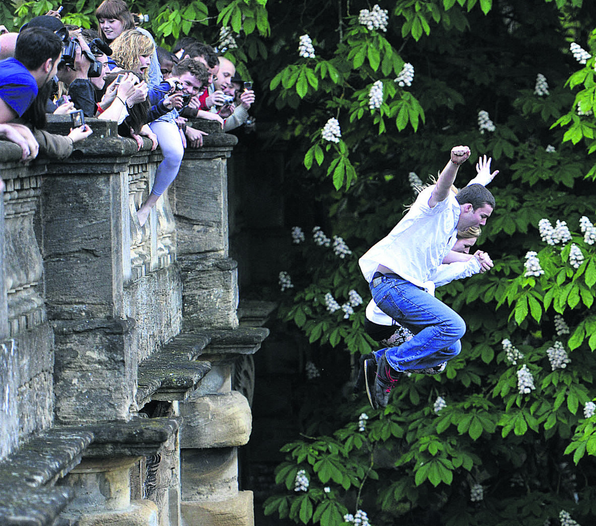 Magdalen Bridge jumpers