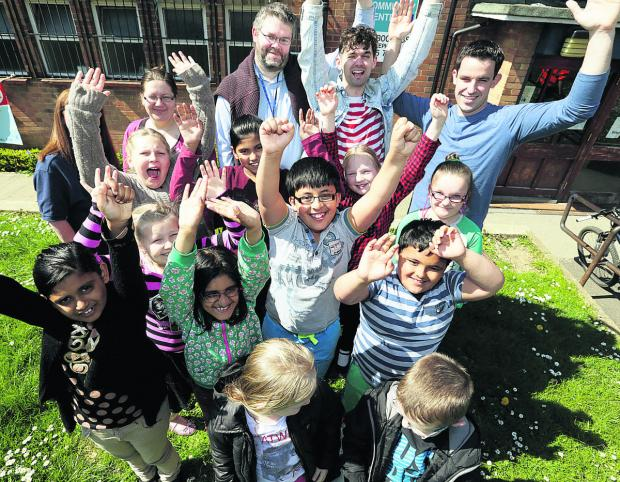 thisisoxfordshire: Members of Rose Hill Junior Youth Club celebrate the news