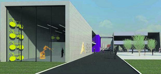 thisisoxfordshire: An artist's impression of the centre