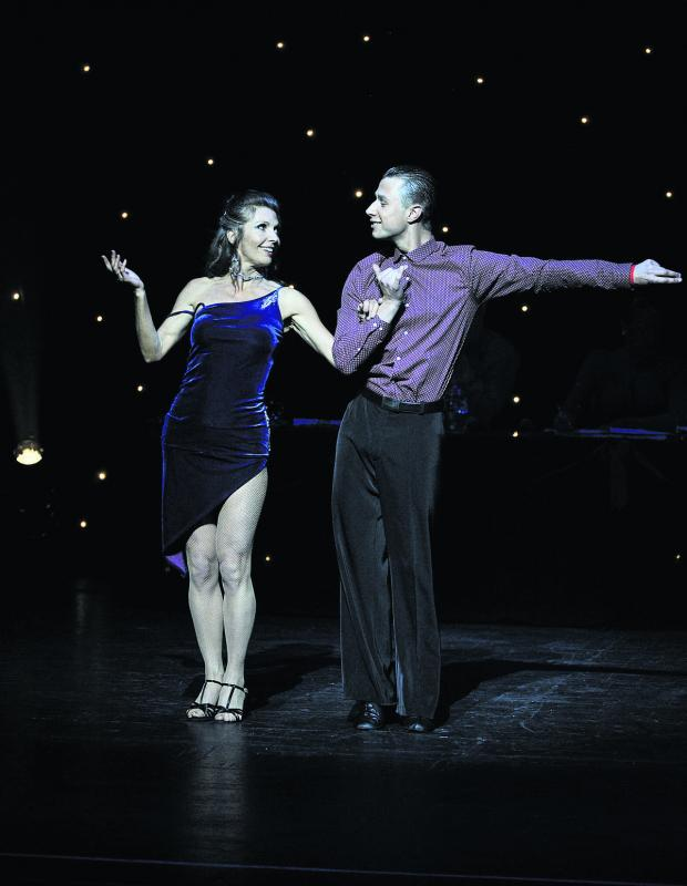thisisoxfordshire: Winners Lynn Knapp and her dancing partner Andrius Backys