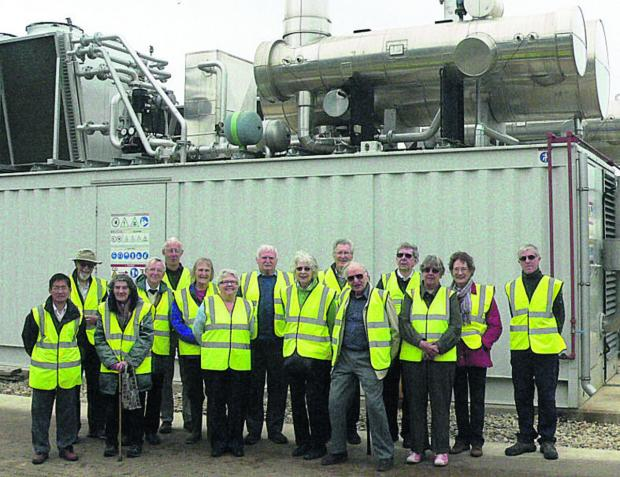 Members of Witney U3A at Agrivert's Cassington digester