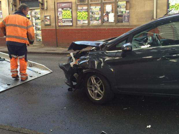 thisisoxfordshire: Collision in Oxpens Road, Oxford