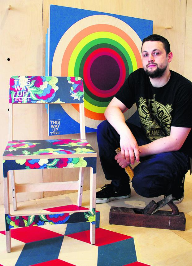 thisisoxfordshire: Josh Rose, owner of new furniture shop Love Your Plane