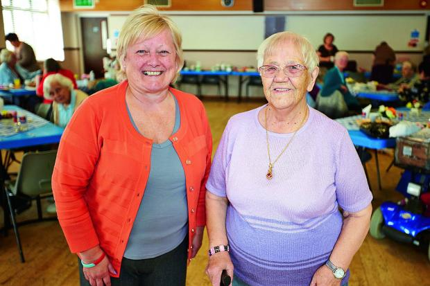 thisisoxfordshire: he Barton Bash has been moved to mark the 100th birthday of the estate's oldest resident Dorothy Pearce, right, with event organiser Sue Holden at Barton Neighbourhood Centre