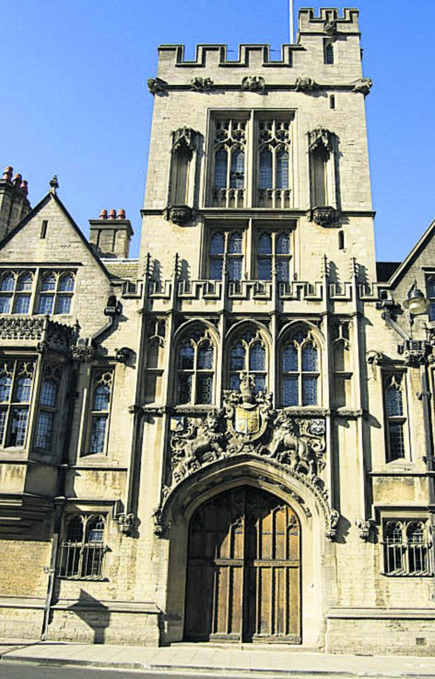 thisisoxfordshire: Brasenose College