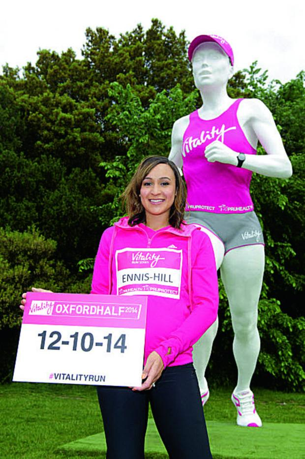 thisisoxfordshire: Jessica Ennis-Hill