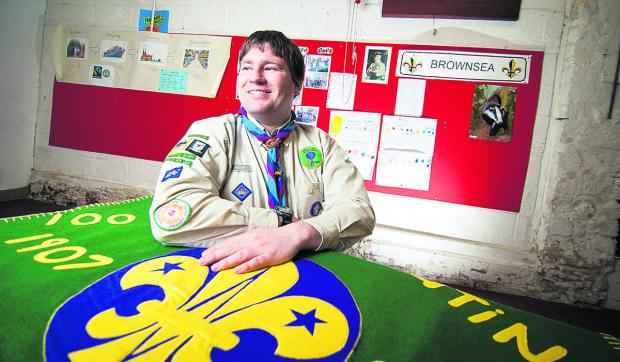 thisisoxfordshire: Brendan Cahill has been presented with The Queen's Scout Award, the highest honour in Scouting, awarded for outstanding personal achievement