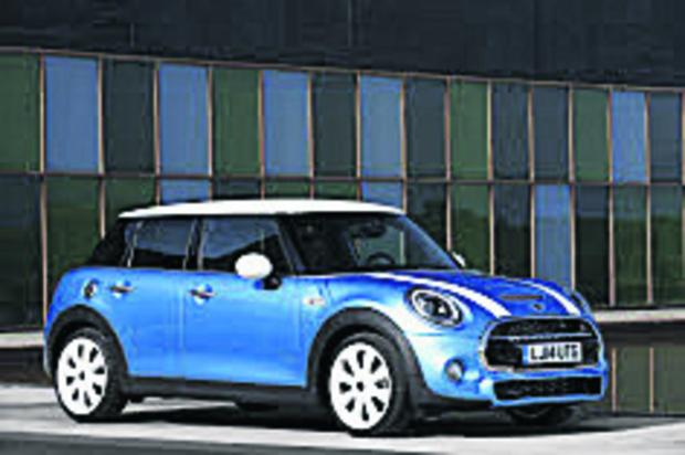 thisisoxfordshire: The new five-door Mini
