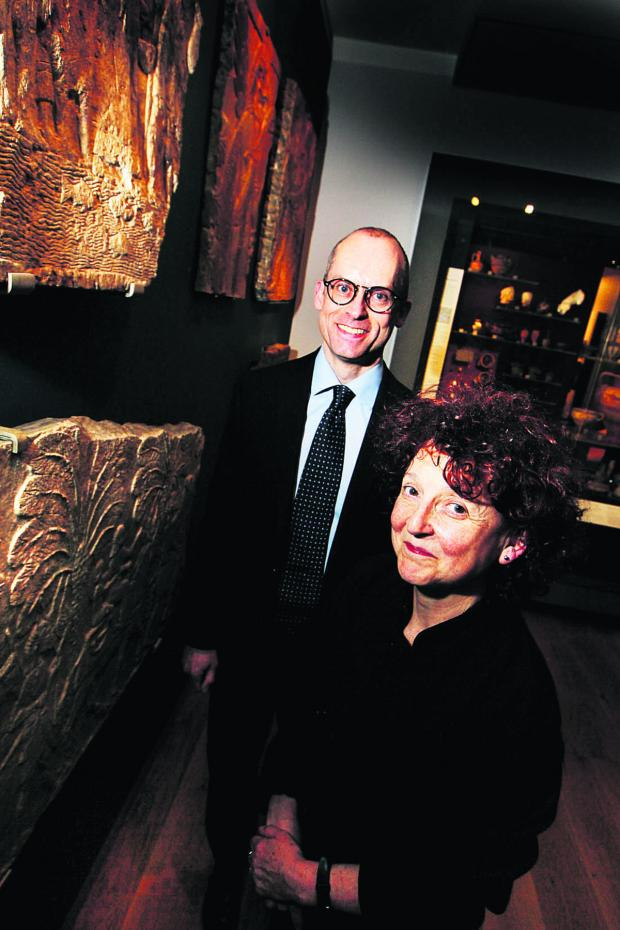 thisisoxfordshire: HIGHLIGHT: Dr Paul Collins and Dr Venetia Porter were among the speakers at the Ashmolean's special week of events themed around Syria