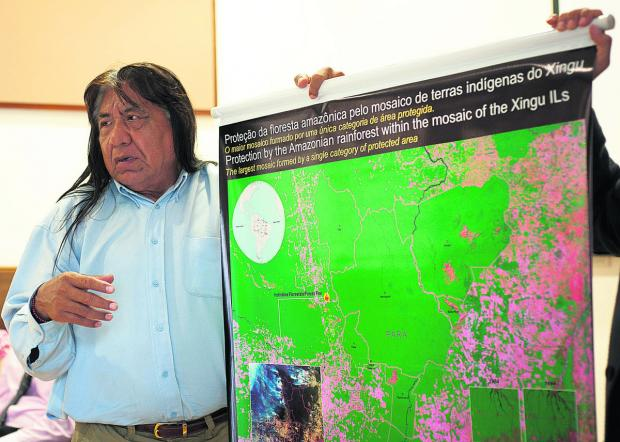 Tribal chiefs give first-hand lesson on rainforest
