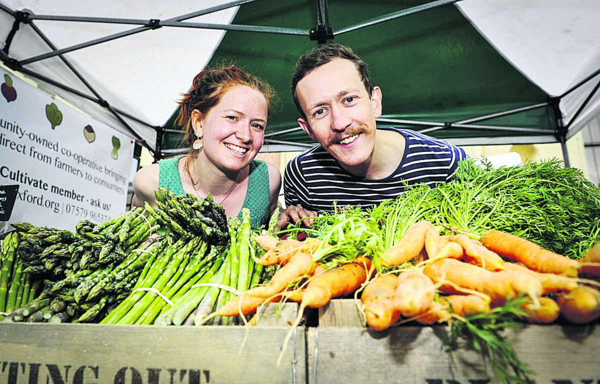 CHAMPIONING CAUSE: Doireann Lalor and Richard Howlett from Cultivate Oxford