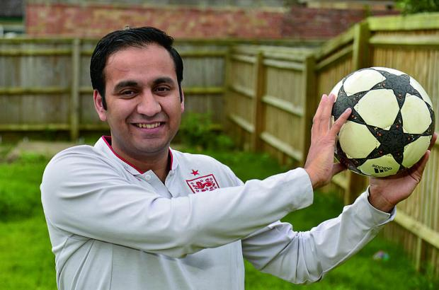 thisisoxfordshire: Organiser Shajaat Hussain of the Oxford Ambition Project which is running the tournament