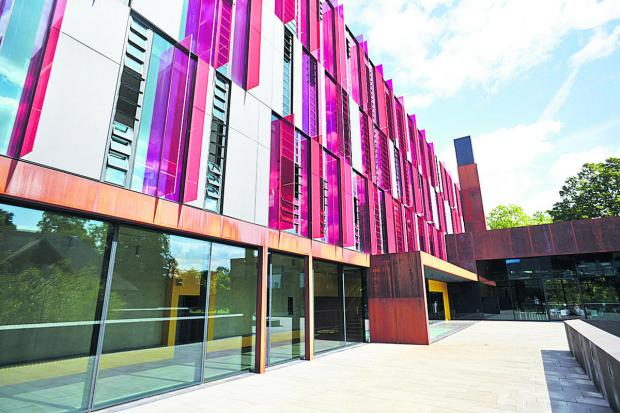 thisisoxfordshire: The exterior of the new John Henry Brookes building