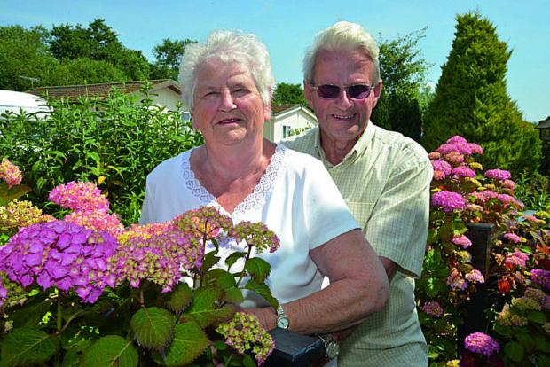 thisisoxfordshire: Peter and Jean Goodgame