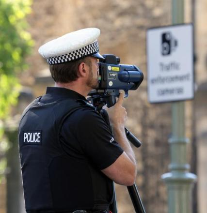 Nearly 200 speeding drivers caught in police operation in two Oxford streets