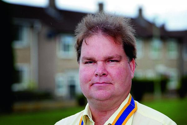 New president of The Rotary Club of Oxford Spires, Stephen Axtell