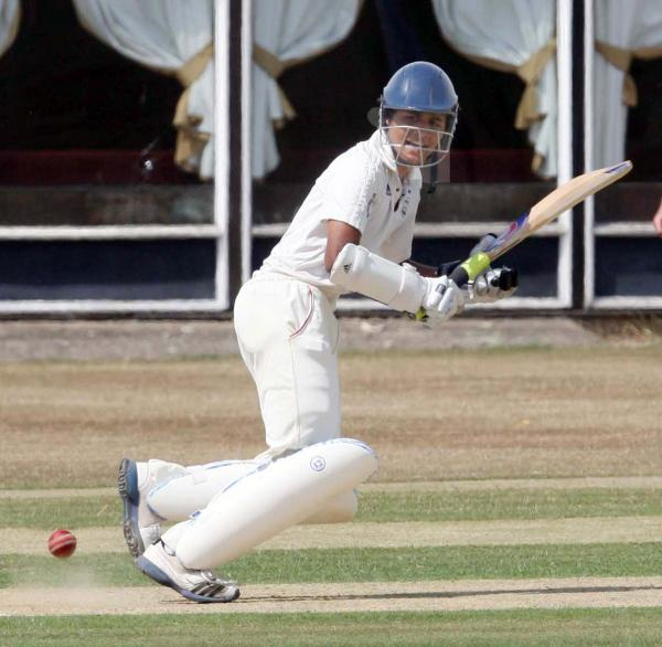 thisisoxfordshire: Vishane Perera top-scored with 21 in Oxon's second innings