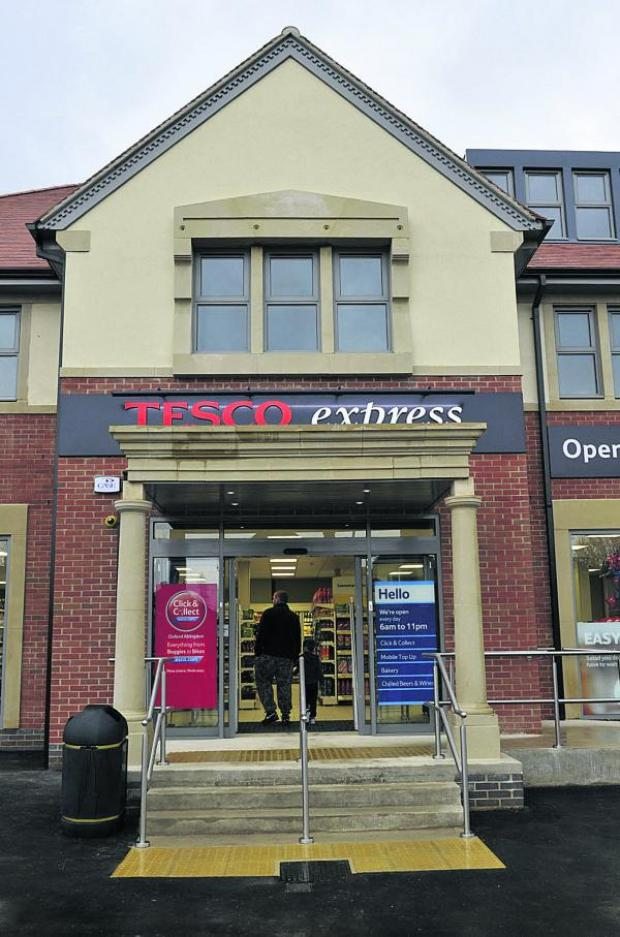 thisisoxfordshire: Tesco Express, Abingdon Road, is next to the site