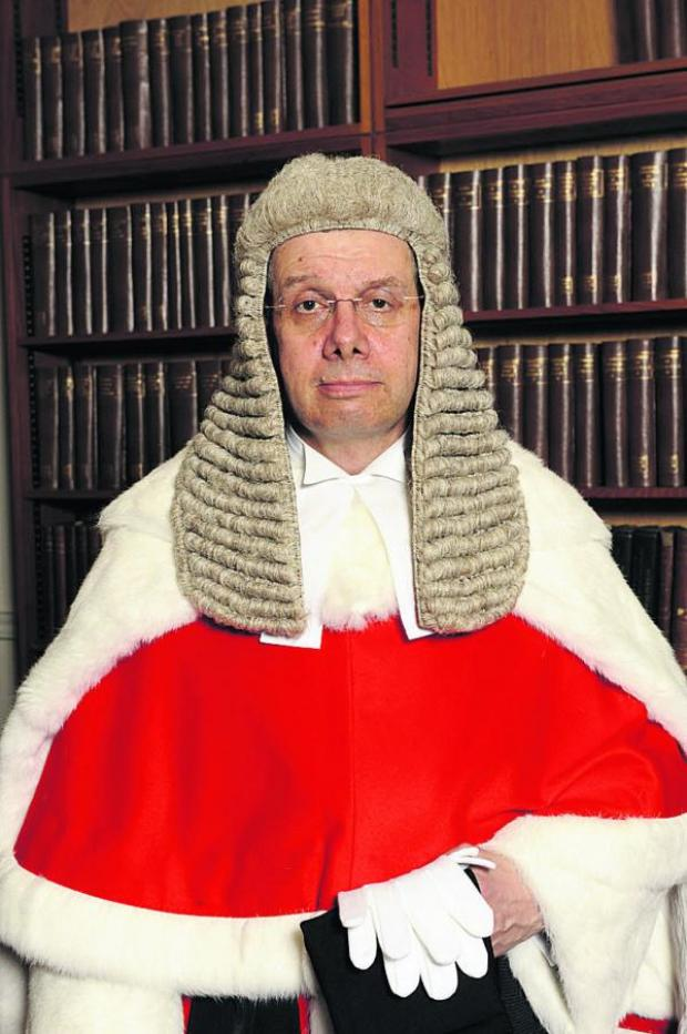 thisisoxfordshire: Judge Mr Justice Robin Spencer QC