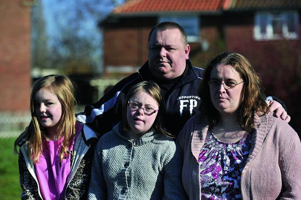 Lea and Judith Perry, with daughters Eloise, left, and Rhiannon, hope to save other children from the fate of son Freddie