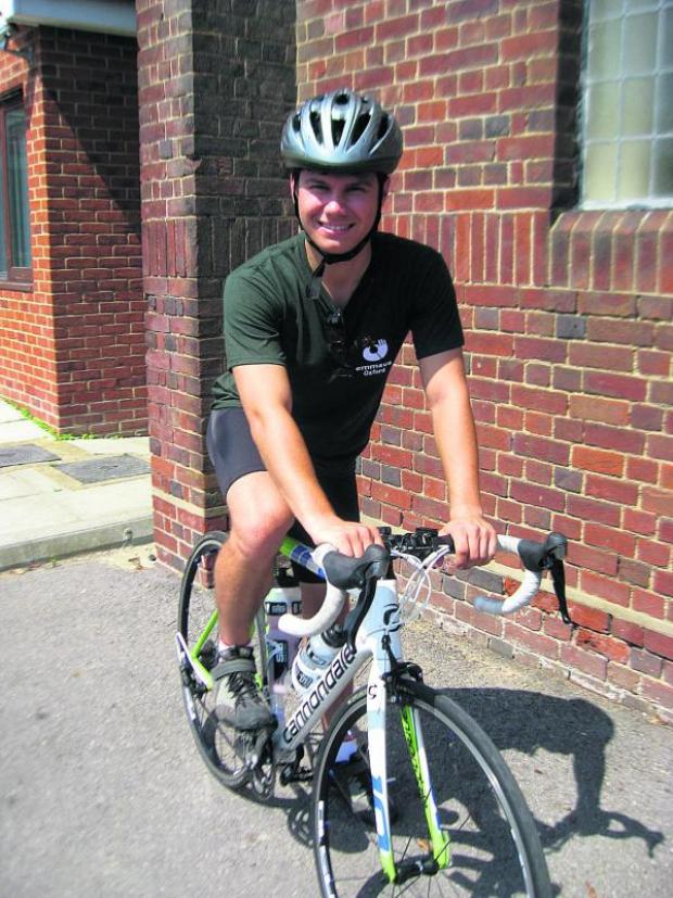 thisisoxfordshire: Thomas Cranshaw is preparing to ride a 156-mile route in France called The Hell of the North for homelessness charity Emmaus