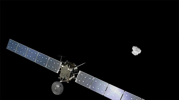 Oxford company behind laboratory on comet probe 250 million miles away (Pic: PA)