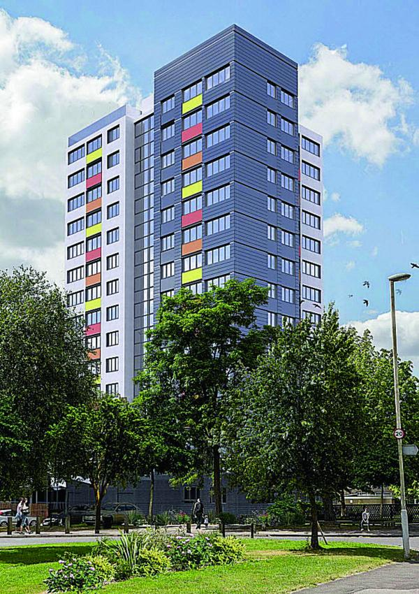 A splash of colour will give 'dull' Leys tower major lift