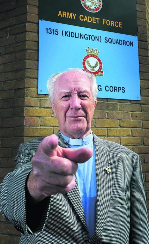 thisisoxfordshire: Kidlington Air Cadets chaplain the Rev Jim Turner is appealing for more to join