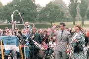 Prince Charles launches The Venturer in 1988
