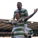 thisisoxfordshire: Celtic's Leigh Griffiths celebrates his goal