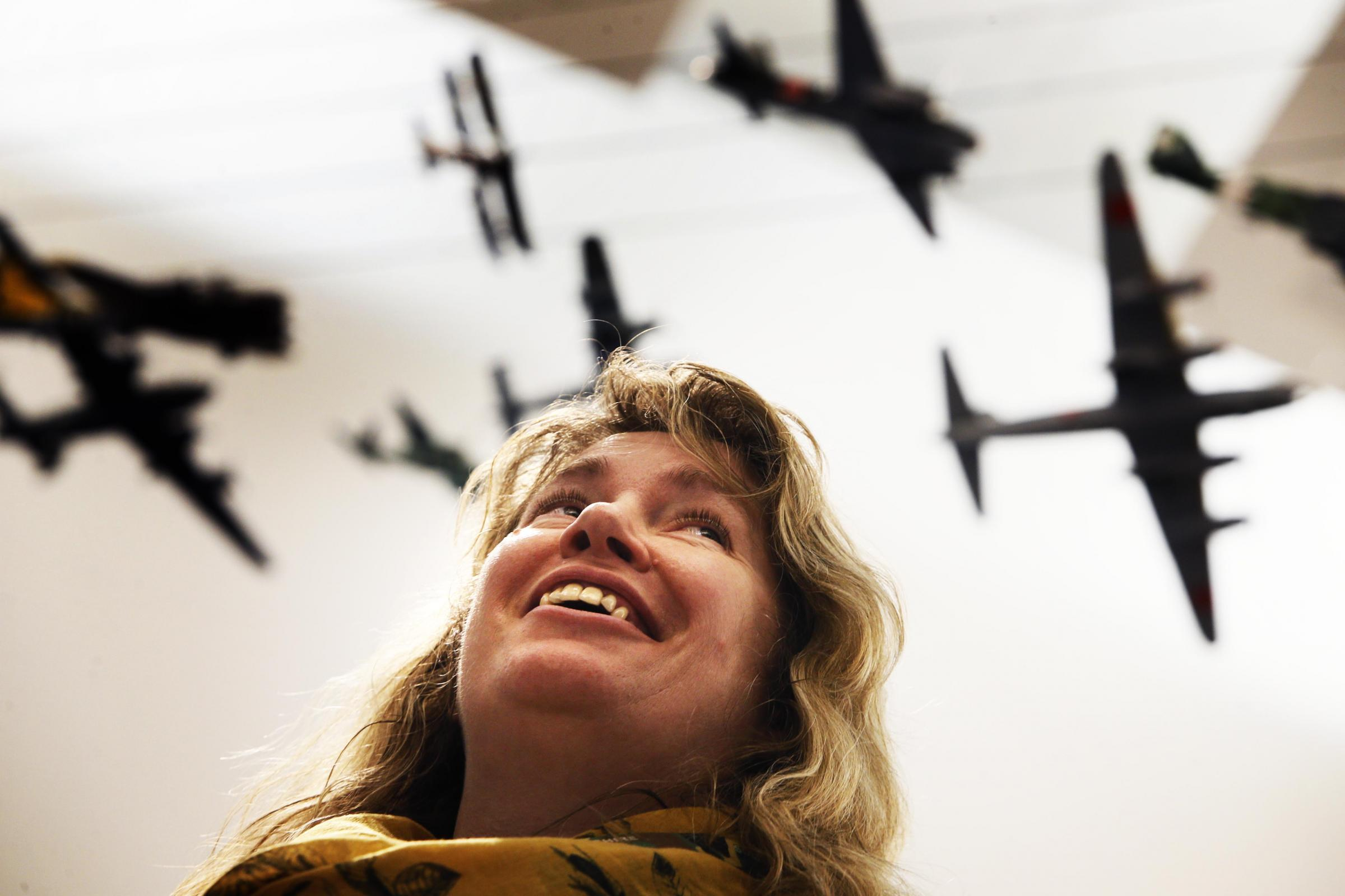Ursula Corcoran is looking forward to a new exhibition at the Soldiers of Oxfordshire Museum in Woodstock on the history of flight. Picture: Ed Nix