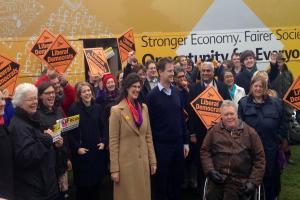 Nick Clegg launches Lib Dem election campaign in Abingdon