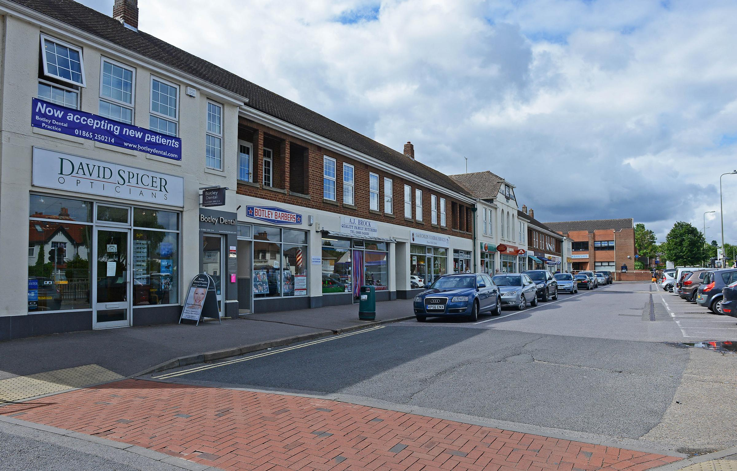 The district council's proposals for the West Way shopping centre do not rule out the demolition of Elms Parade.