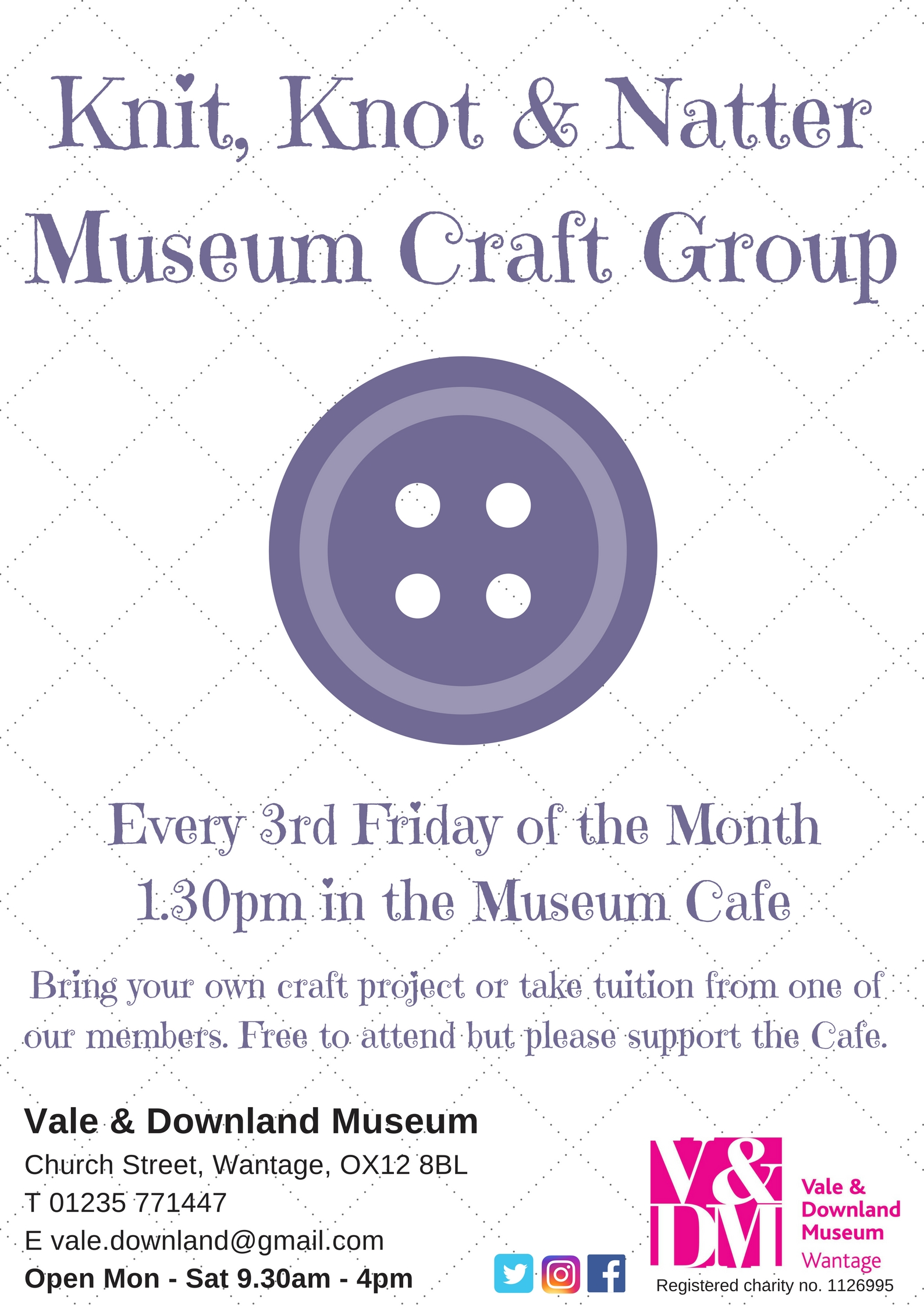 Knit Knot & Natter Museum Craft Group