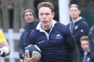 SELECTED: Oxford University winger Tom Stileman is named in the England Students squad to face Ireland Universities at Iffley Road on Sunday