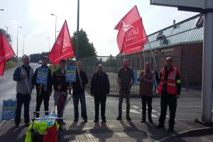 BMW employees have take industrial action