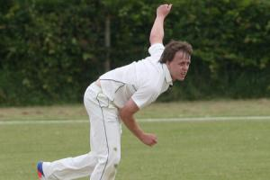 Blewbury and Wallingford's Scott Harris was the leading wicket-taker in the Cherwell League last year Picture: Steve Wheeler