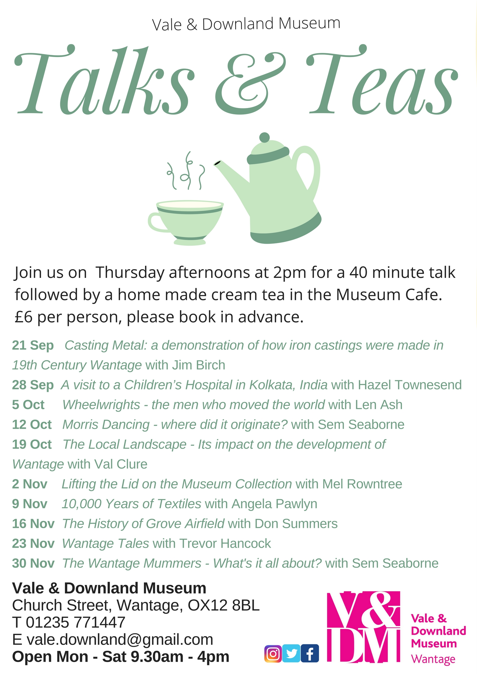 Teas & Talks