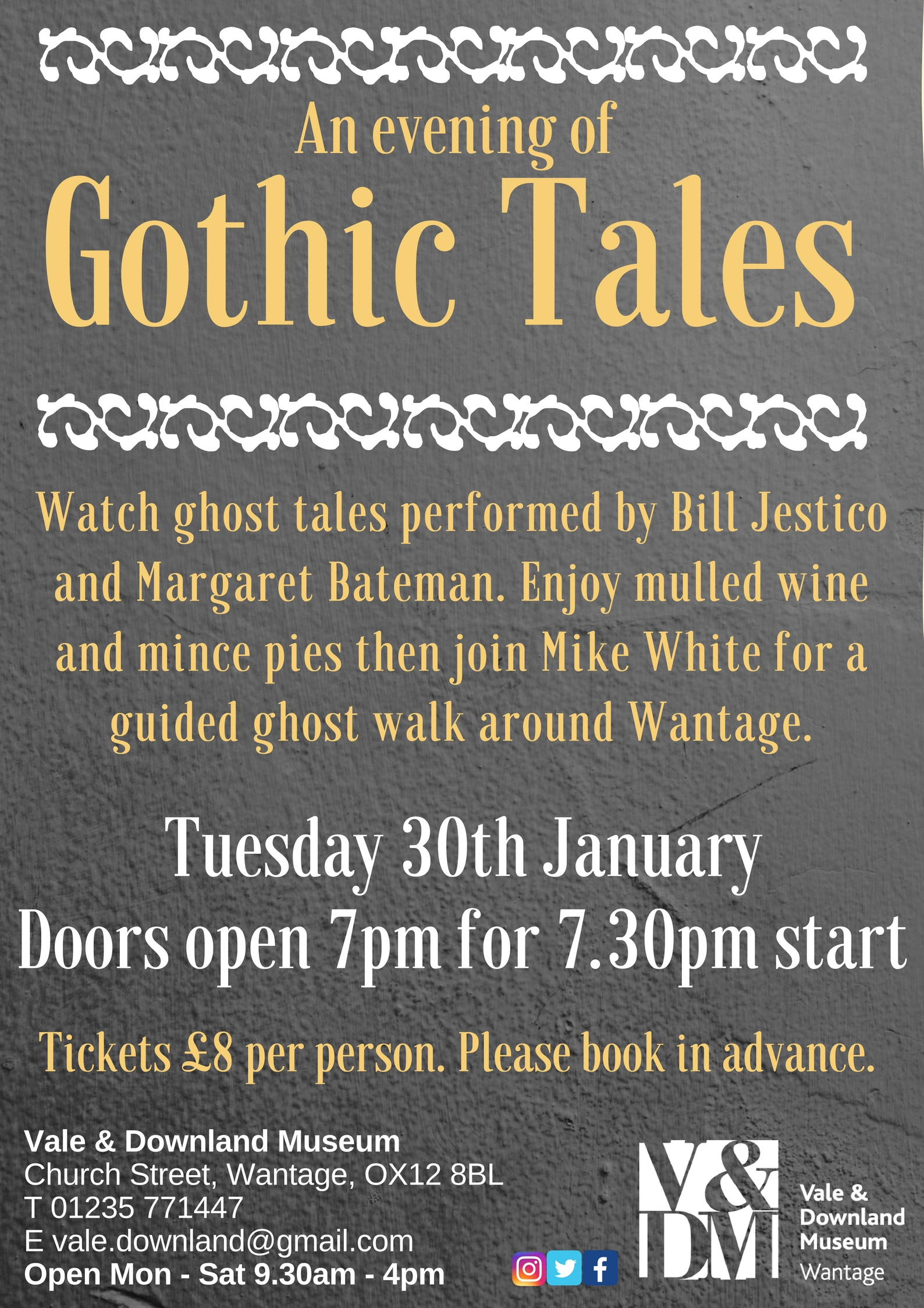 An Evening of Gothic Tales