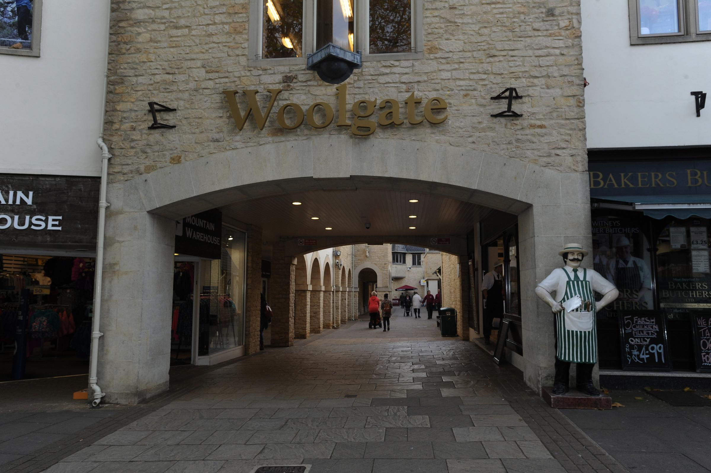 The Woolgate shopping centre